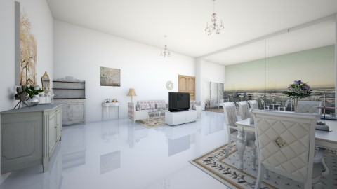 elegance - Feminine - Living room - by Liberty Interior