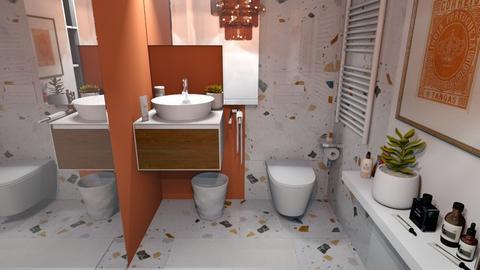 Arty Toilet Room - Bathroom  - by MiaM