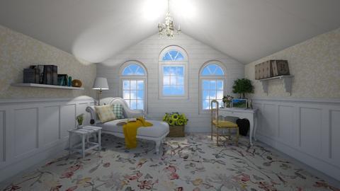attic getaway room - by fippydude