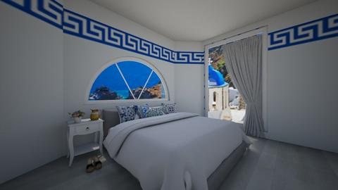 Greek Bedroom - by flowerpandafox