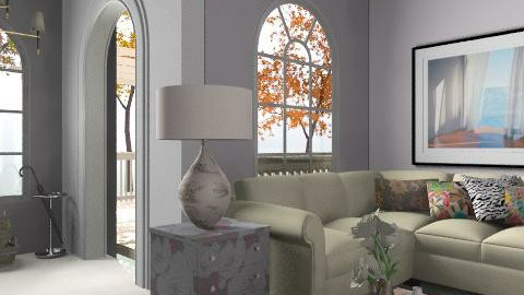 Under the cherry tree - Eclectic - Living room - by hunny