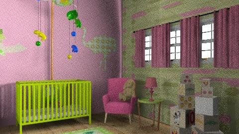 FUNKY NURSERY - Eclectic - Kids room  - by mywishlr