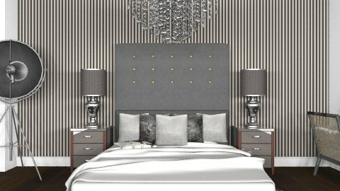 luxe glamour - Glamour - Bedroom  - by Abdallah Alayan