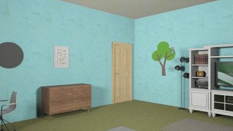 11 year old room - Vintage - Bedroom  - by slcdoggies