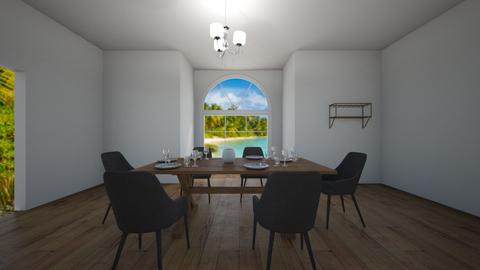 Dinning room - Dining room - by gabby_m_rodriguez3