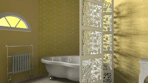 Charming Bathroom - Vintage - Bathroom  - by beabiabolhas