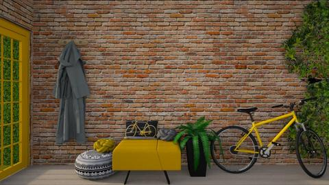 Yellow Bicycle - by Asha_Shade