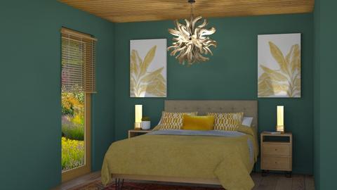 Green Room  - Bedroom  - by rona123