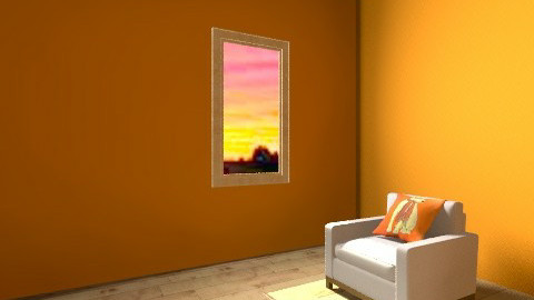 kayla lucera - Retro - Living room  - by Chelsc411
