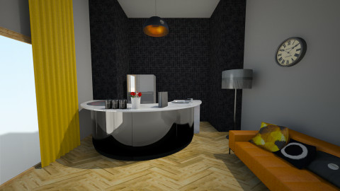 gjsfy - Living room - by Kataszabo