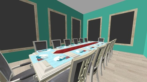 Bright Design - Dining room - by Tiannab24