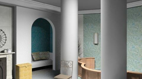 Kotán Krisztina - Rustic - Bathroom  - by kokrisz