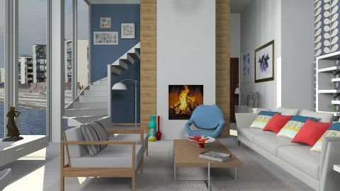 January 2014 - Modern - Living room  - by janip