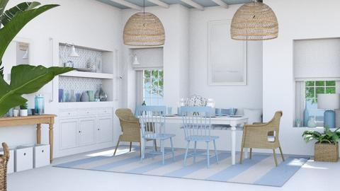 Celeste dining room - Dining room  - by Charipis home