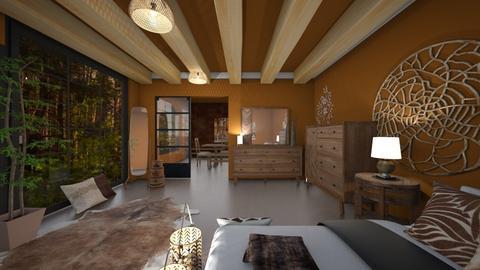 Sunroom Bedroom - Retro - by haileymilby