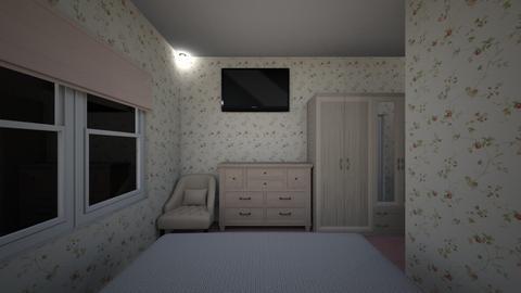 Tiny Hotel Room 2 - Bedroom  - by SammyJPili