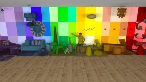 rainbow run - Eclectic - by mobeach