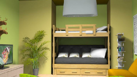 bedroom for teen boy or girl..... - Eclectic - Bedroom  - by thankgod