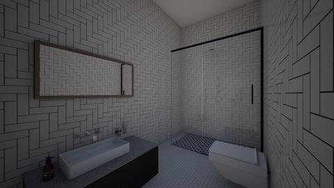 guest bath - Bathroom  - by kostasfas