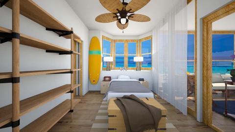 Hawaii Beach House Bdr 2  - Bedroom  - by SammyJPili