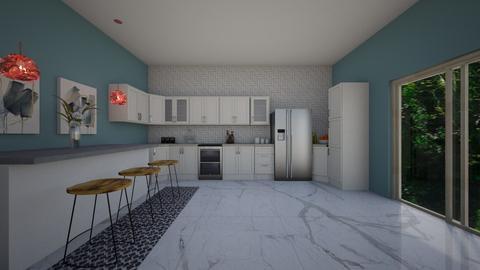 dh kitchen - Kitchen - by Meredith Crummey