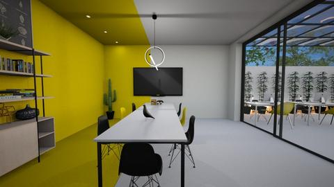 Yellow office - Office  - by diegobbf