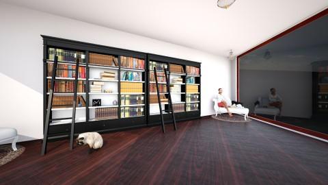 Library - Classic - by lanaiahubbard