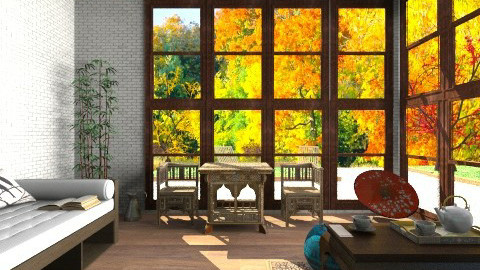 Autumn oriental - by lady_black_rose