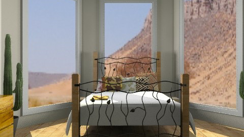 Desert Bedroom - Country - Bedroom  - by Katherine100