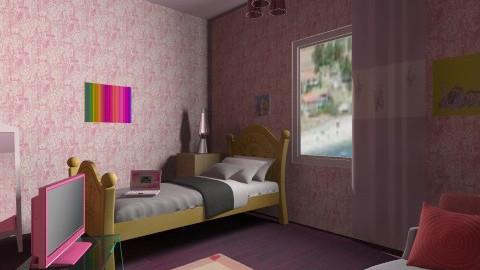 girl room - Kids room - by martina1999