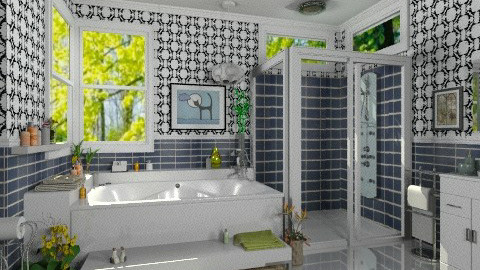Modern bathroom - Modern - Bathroom  - by Bibiche