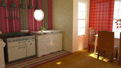 kitchen/dining room - Vintage - Kitchen  - by yoban