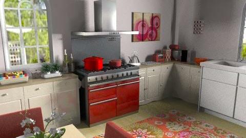 kitchen diner - Eclectic - Kitchen  - by lynda huckson