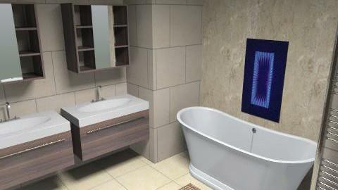 bathroom 1 - Minimal - Bathroom  - by Fulton Gary