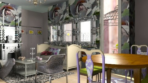 Mirrors b - Vintage - Living room - by mrschicken