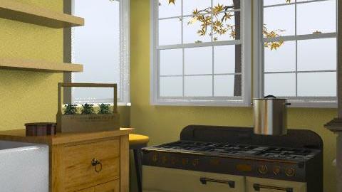 1919 kitchen - Eclectic - Kitchen  - by Taffy DeJarnette