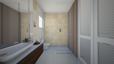 Bathroom Angle 2 - Minimal - Bathroom  - by gerlukavich
