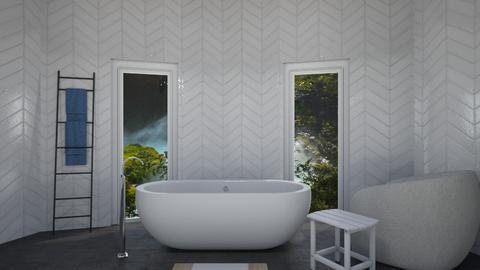 G R A Y - Minimal - Bathroom  - by taebay1 OSG