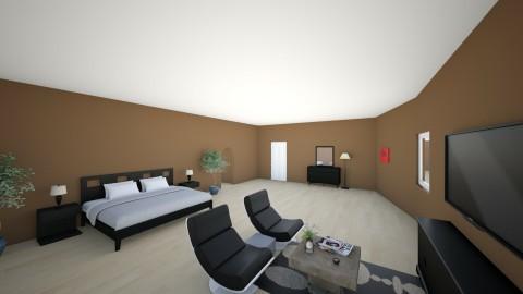 Stock Home Master - Modern - Bedroom  - by hunteronstad