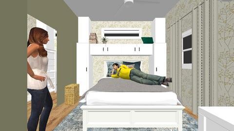 2nd floor op 2 stairs - Bedroom - by teryaki10