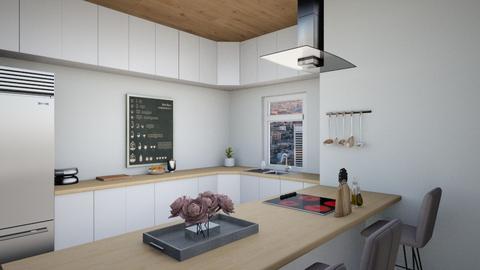 Madern kitchen - Modern - Kitchen - by norkis