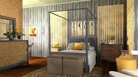 serengeti - Eclectic - Bedroom  - by mywishlr