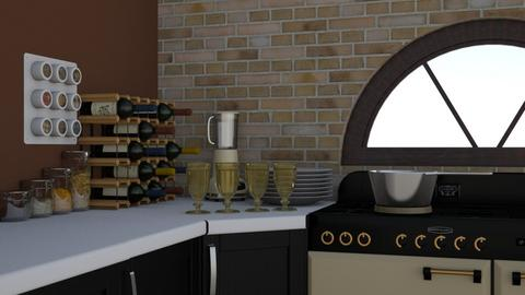 Experiment - Kitchen - by thigpen