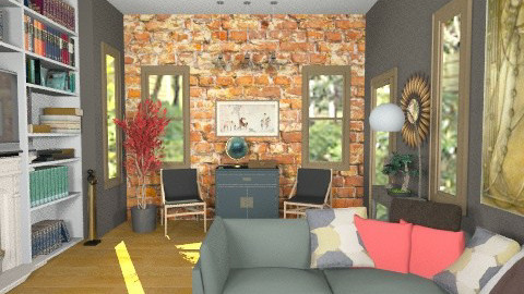 this is a room - Living room - by PennyDreadful