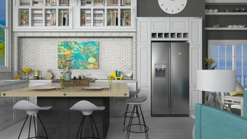 kitchen design - by mariagarcia11