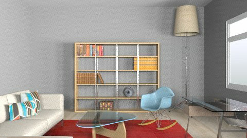 DWR_office_oak - Eclectic - Office - by zstrobino