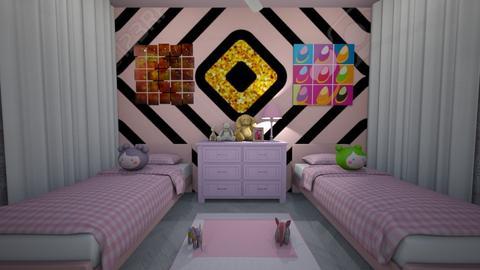 Girls Room - Kids room  - by nkanyezi