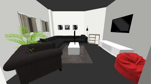 Marian Sanni - Living room  - by jeremyosei