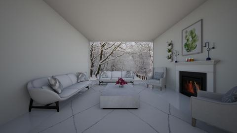 winter garden - Living room  - by cagla_deniz_