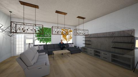12 - Modern - Living room  - by nitish singh